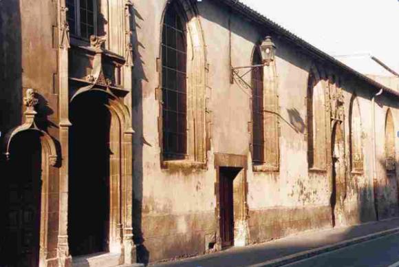 Ste. Marguerite Chapel. La Rochelle, France.