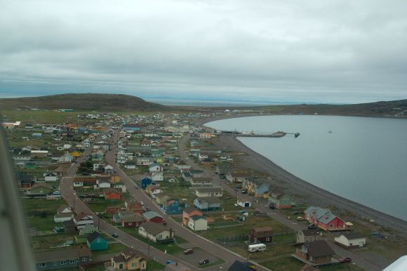 Modern Miquelon from above.  Source: Wikipedia